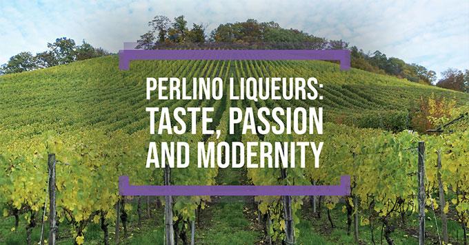 Perlino liqueurs: taste, passion and modernity