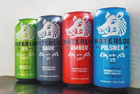 Waterloo Brewing - Canadá