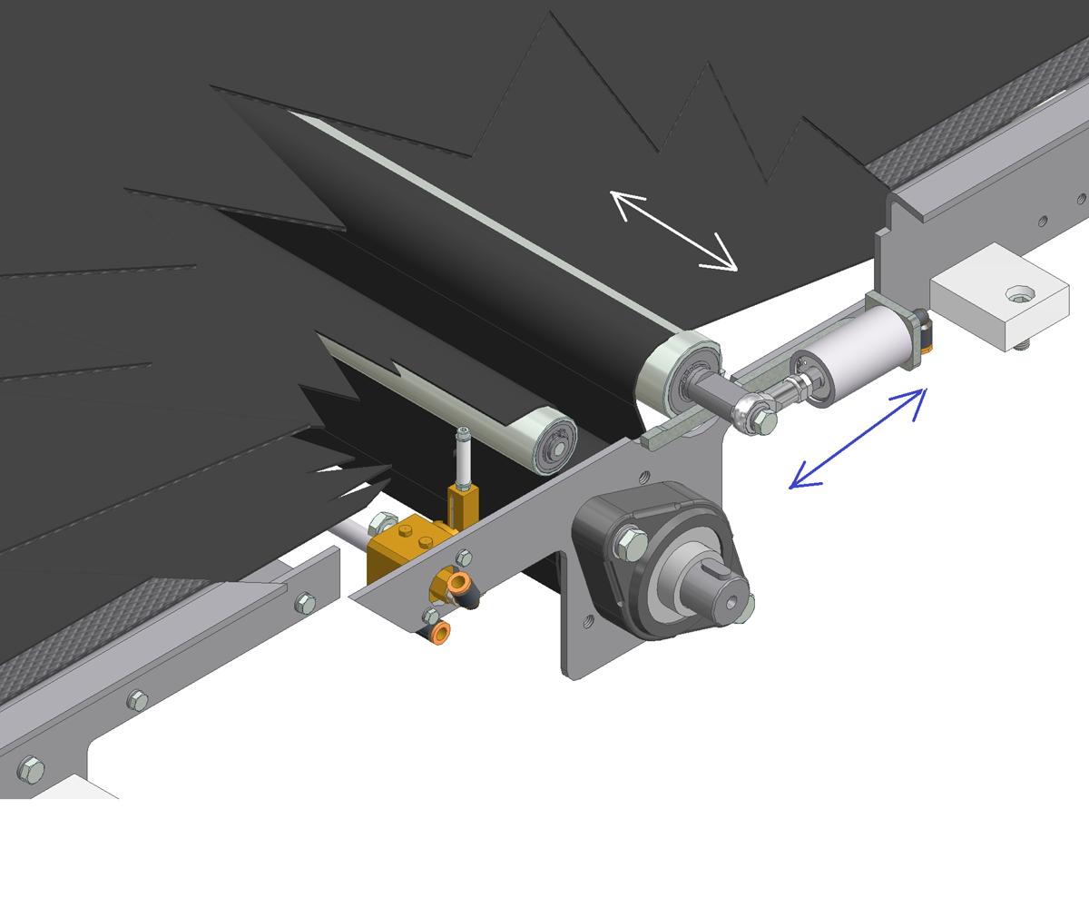 ZF010011 - Sistema de centrado automático de tapete