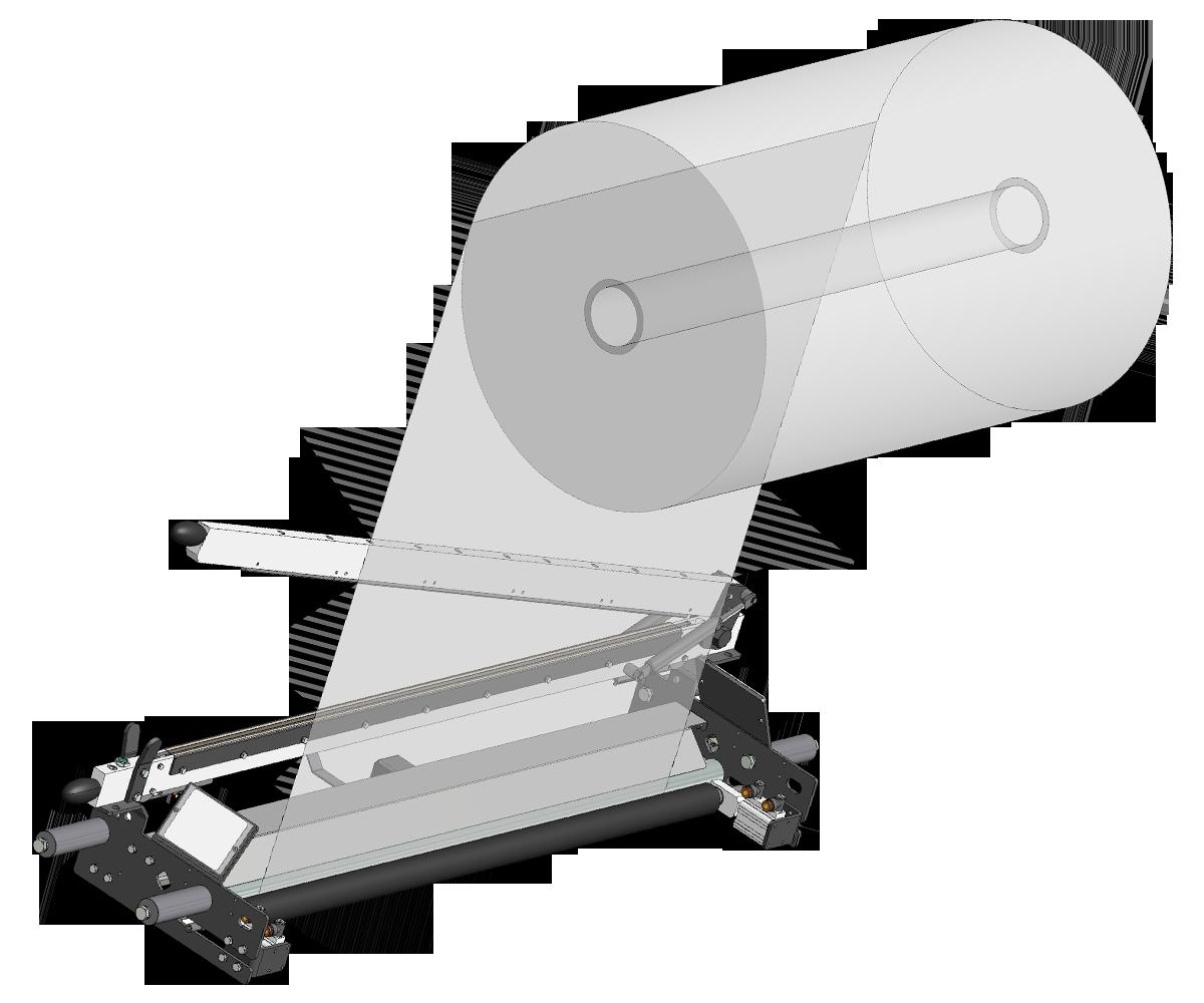 ZF010014 - Rodillo de bloqueo para el cambio de carrete