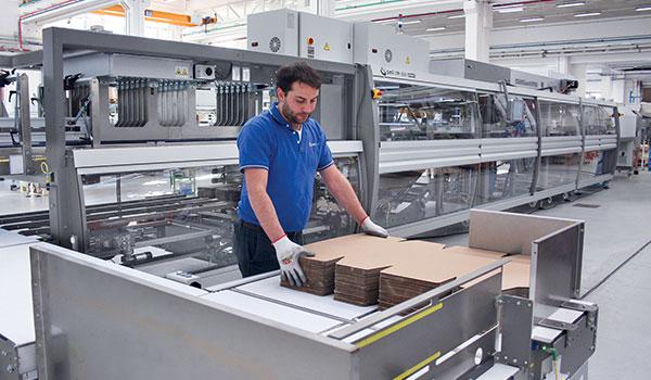 Empaquetadoras en multipack de cartoncillo