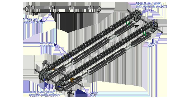 MT500055 – Former overhaul kit for SK machine single lane