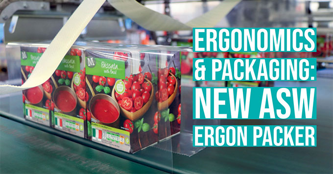 New ASW ERGON packer. FachPack 2019 preview!