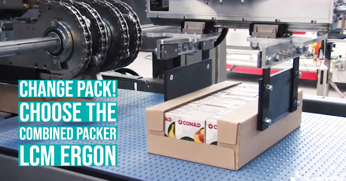 Change pack! Choose the combined packer LCM